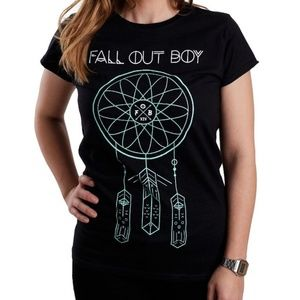 Hot Topic Tops - fall out boy dreamcatcher t shirt black fitted